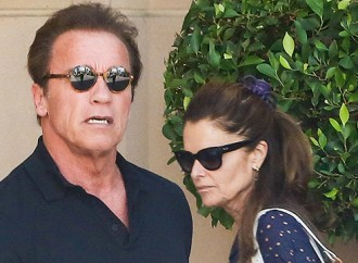Arnold Schwarzenegger celebrates his birthday in a company of ex-wife