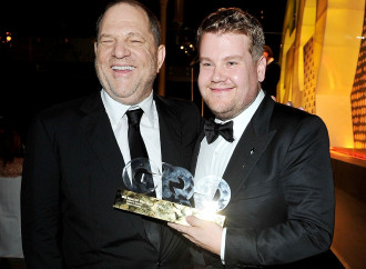 James Corden catches flak for joking about Harvey Weinstein