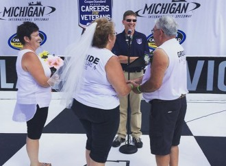 50th anniversary celebration at MIS with wedding vow renewal