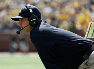 Jim Harbaugh refuses to be humored by Colorado's fake Michigan depth chart