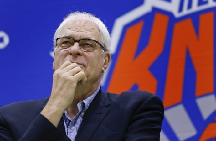 Phil Jackson remains cryptic in Twitter response to LeBron James 'posse' criticism
