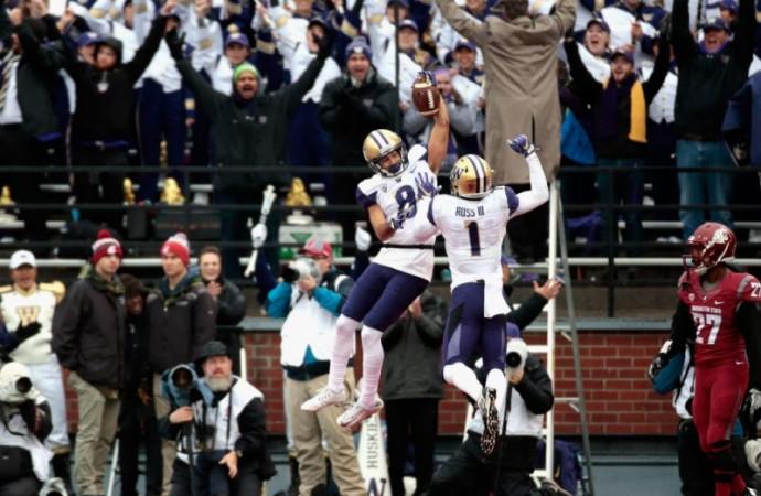Washington's goal-line defense blunts Washington State comeback in 45-17 win