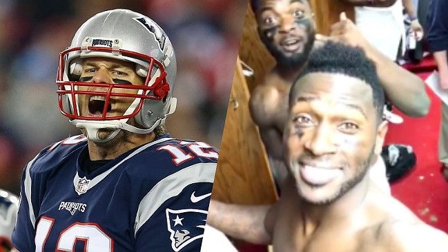 Tom Brady Responded To Antonio Brown Posting Mike Tomlin's 'A**holes' Speech On Facebook