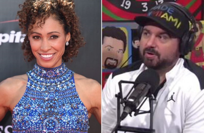 Dan Le Batard goes off on Sage Steele: 'ESPN-on-ESPN crime'