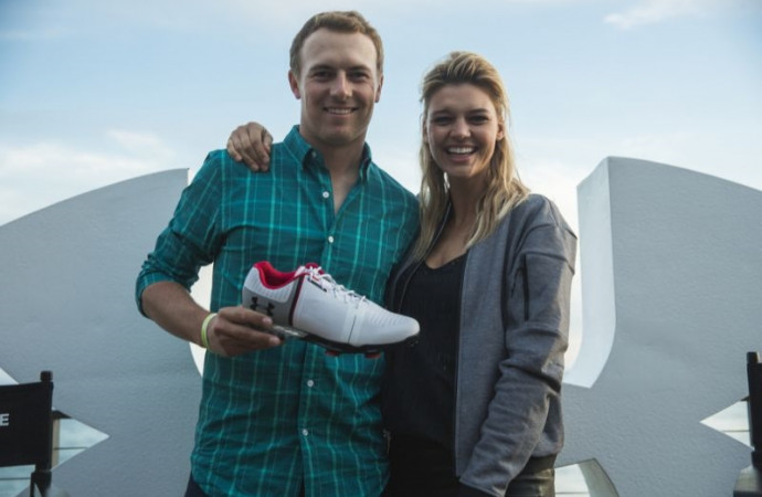 PHOTOS: Jordan Spieth, model Kelly Rohrbach promote Spieth One in Malibu