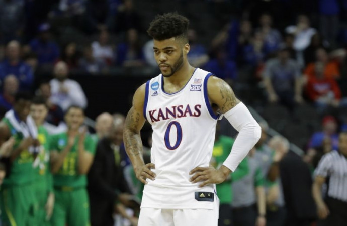 Frank Mason's Kansas career ends without a Final Four appearance