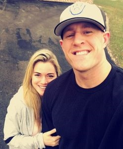 All the Times NFL Star J.J. Watt and His Girlfriend Have Been Totally Adorable