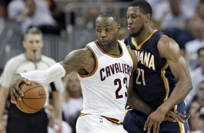 Switch not flipped: Cavs escape Pacers on final possession of playoff opener