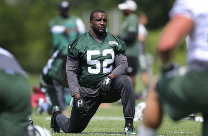 Former Jets LB David Harris signs with, yep, the Patriots