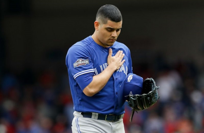 Not a game: Roberto Osuna admits feeling 'a little bit lost' as he copes with anxiety
