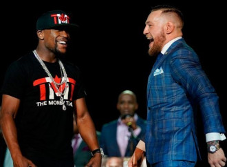 5 best moments from the Mayweather-McGregor media stop in Toronto