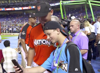 Make-A-Wish kid gets All-Star experience he's always dreamed about