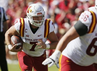 Powered by two-way player Joel Lanning, Iowa State stuns No. 3 Oklahoma
