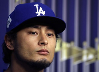 Yu Darvish shrugs off the enormity of his first World Series start