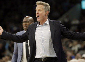 Steve Kerr embarrassed by F-bomb tirade: 'My daughter sent me the meme'