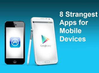 8 Strangest Apps for Mobile Devices