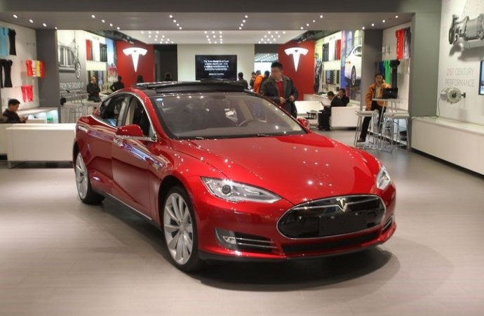 Tesla just opened a pop-up shop inside a Nordstrom