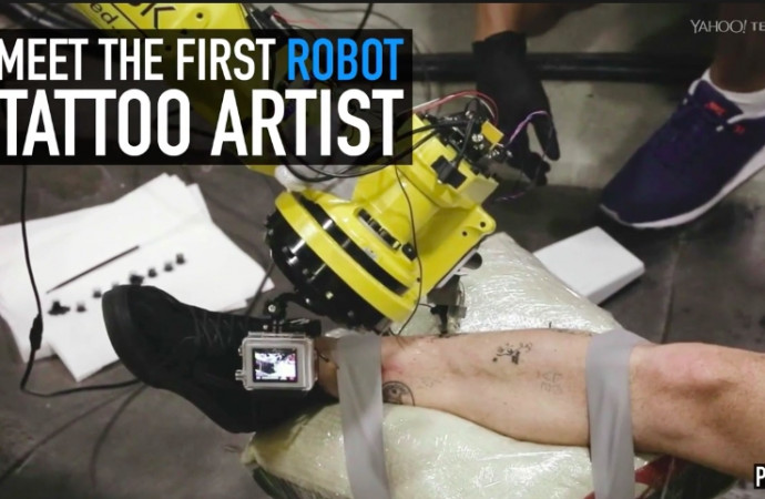 Meet the first robot tattoo artist