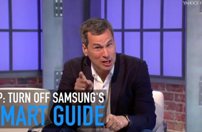 Pogue's Basics: Turn off Samsung's Smart Guide