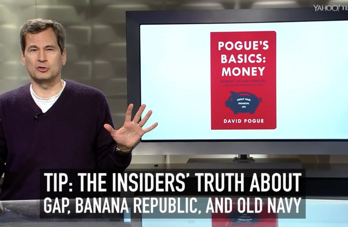 Pogue's Basics: Money — The Insiders' Truth About Gap, Banana Republic, and Old Navy