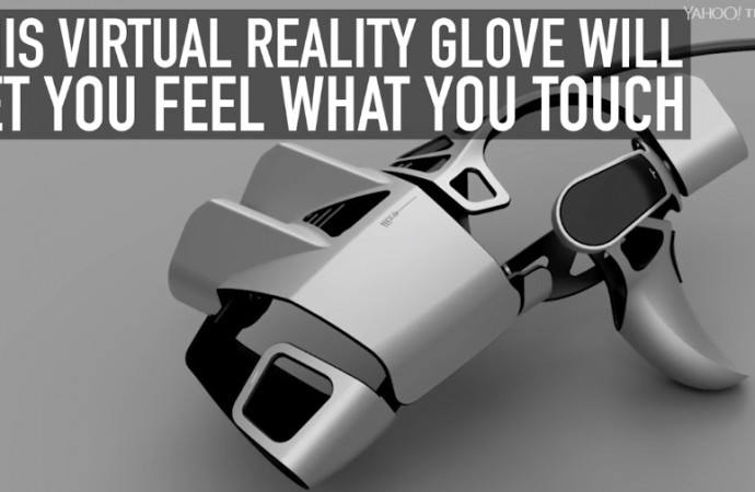 This virtual reality glove will let you feel what you touch