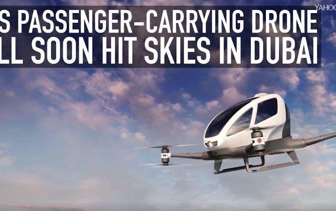 This passenger-carrying drone will soon hit skies in Dubai