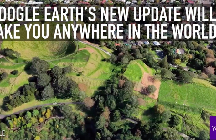 Google Earth's new update will take you anywhere in the world