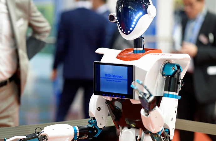 The disruption of workers by robots is about to take a giant leap forward