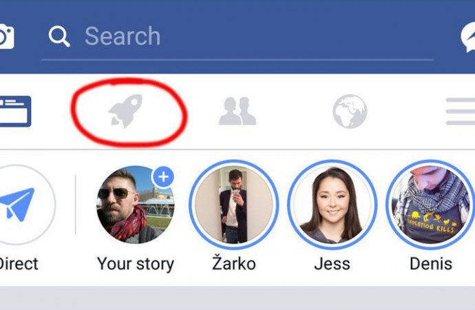 Some Facebook users are seeing a rocket icon in their app. Here\'s what it does