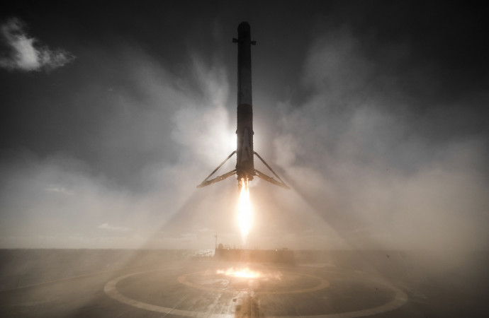 Elon Musk heralds 'huge revolution in space travel' after historic SpaceX mission
