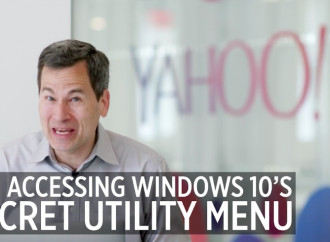 Pogue\'s Basics: The secret Start menu in Windows 10