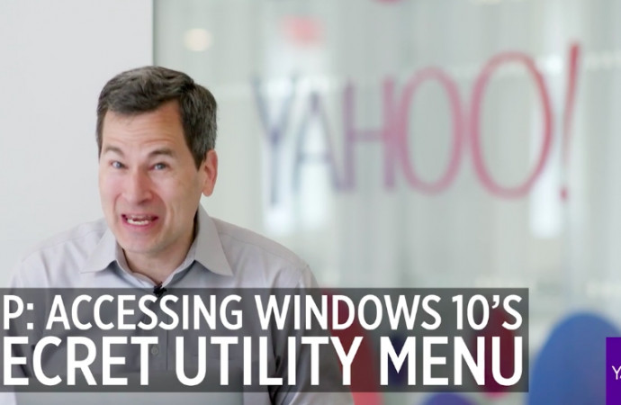 Pogue\'s Basics: The secret Start menu in Windows 10