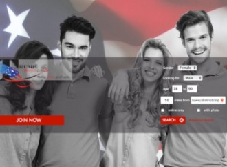 Founder hopes Trump site will 'Make dating great again!'