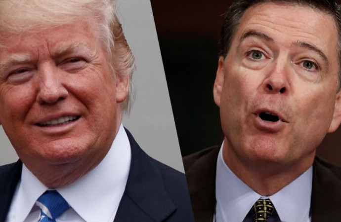 Timing of FBI Director James Comey's firing raises the question: Why now?