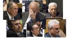 World leaders' faces react to Trump's U.N. speech