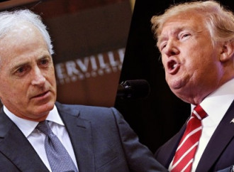 Trump versus Corker goes into extra rounds amid push for tax reform